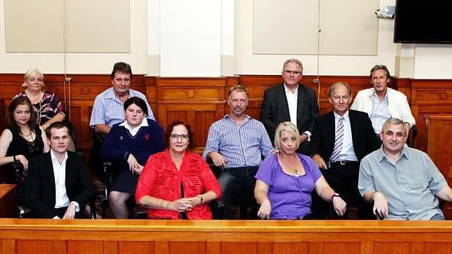 圖:澳洲新南威爾士州高等法院陪審團席。(網絡示意圖片,此圖與本文無關)