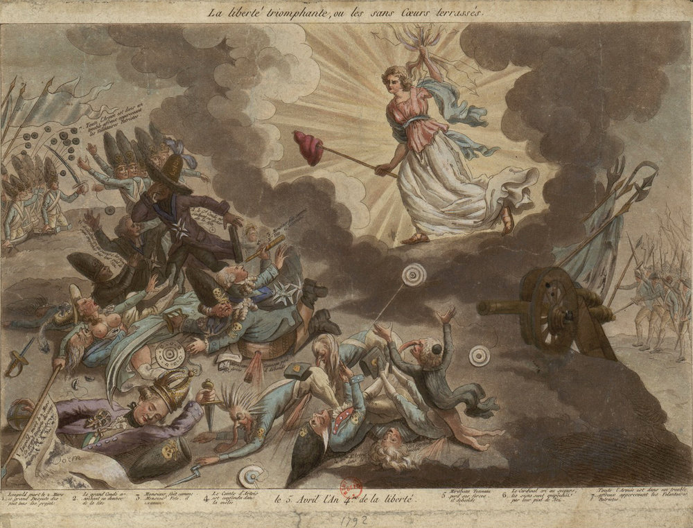 La Liberté Triomphante  (1792)