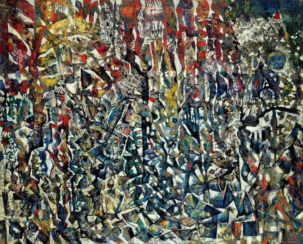 La tour de Babel, de Endre Rozsda, 1958