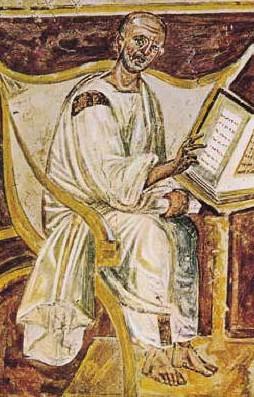 San Agustín, autor desconocido, s. VI