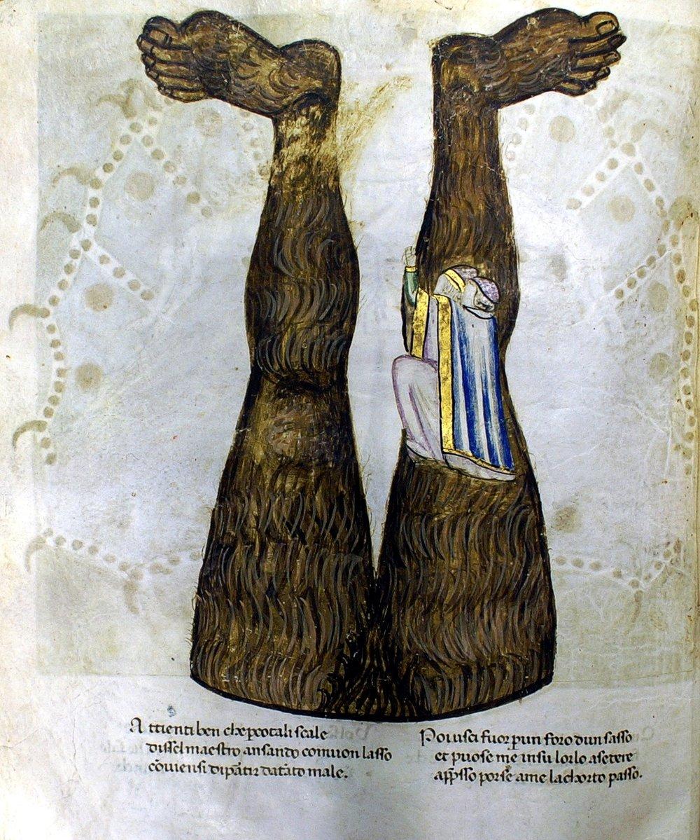 Codex Altonensis,Folio 48v,  siglo XIV