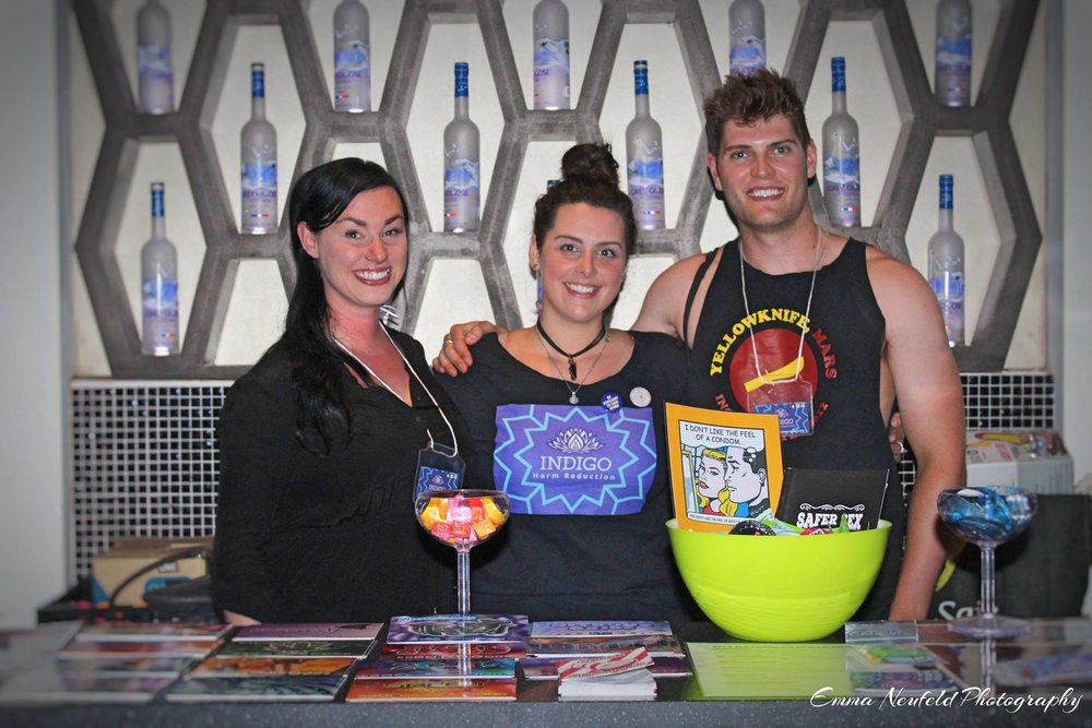 Why Volunteer With Indigo? - Help bring awareness to social and health issues in the community Free entry to festivals and showsGive back to your community Become a harm reduction ambassador  Help your loved ones and community to stay safeGreat experience for your resume and applications to volunteering with other festivals Knowledge and experience in the harm reduction field  Community involvement