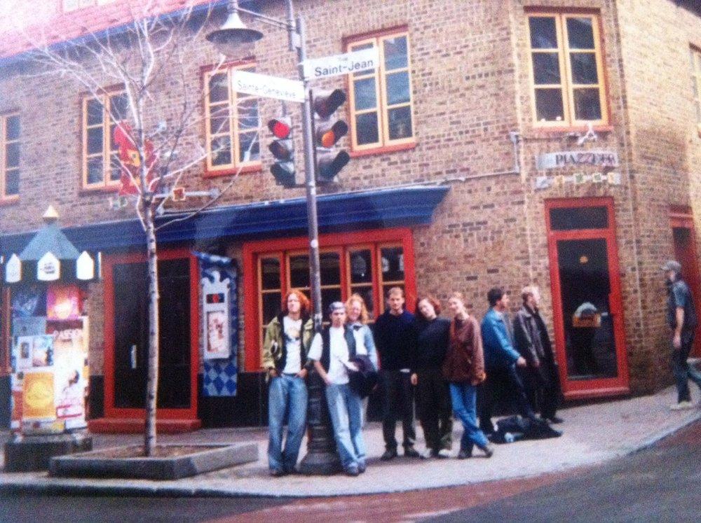 Quebec City, April 2001