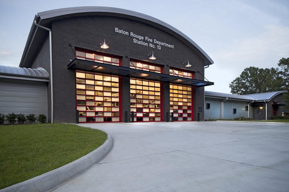 Baton Rouge Fire Station U2013 Sharp Road Station U2014 Crump Wilson Architects Baton  Rouge Architecture Firm