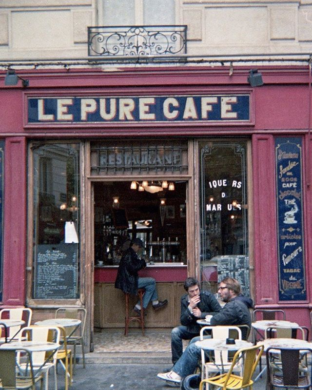 📸: @anthonybourdain . . . . . #paris #lepurecafe #cafe #anthonybourdain #disposablecamera #35mm #disposable #staybrokeshootfilm #instago #instapassport #analoguevibes #filmisnotdead #snapshot #travelgram #ishootfilm #filmphotography #shotonfilm #filmcamera #getlost #explorer #exploretocreate #keepexploring #stayandwander #bts #portraits #justgoshoot #igtravel #bts #portraits_ig #vibes