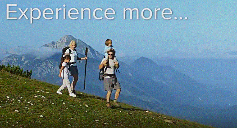 Experience More…