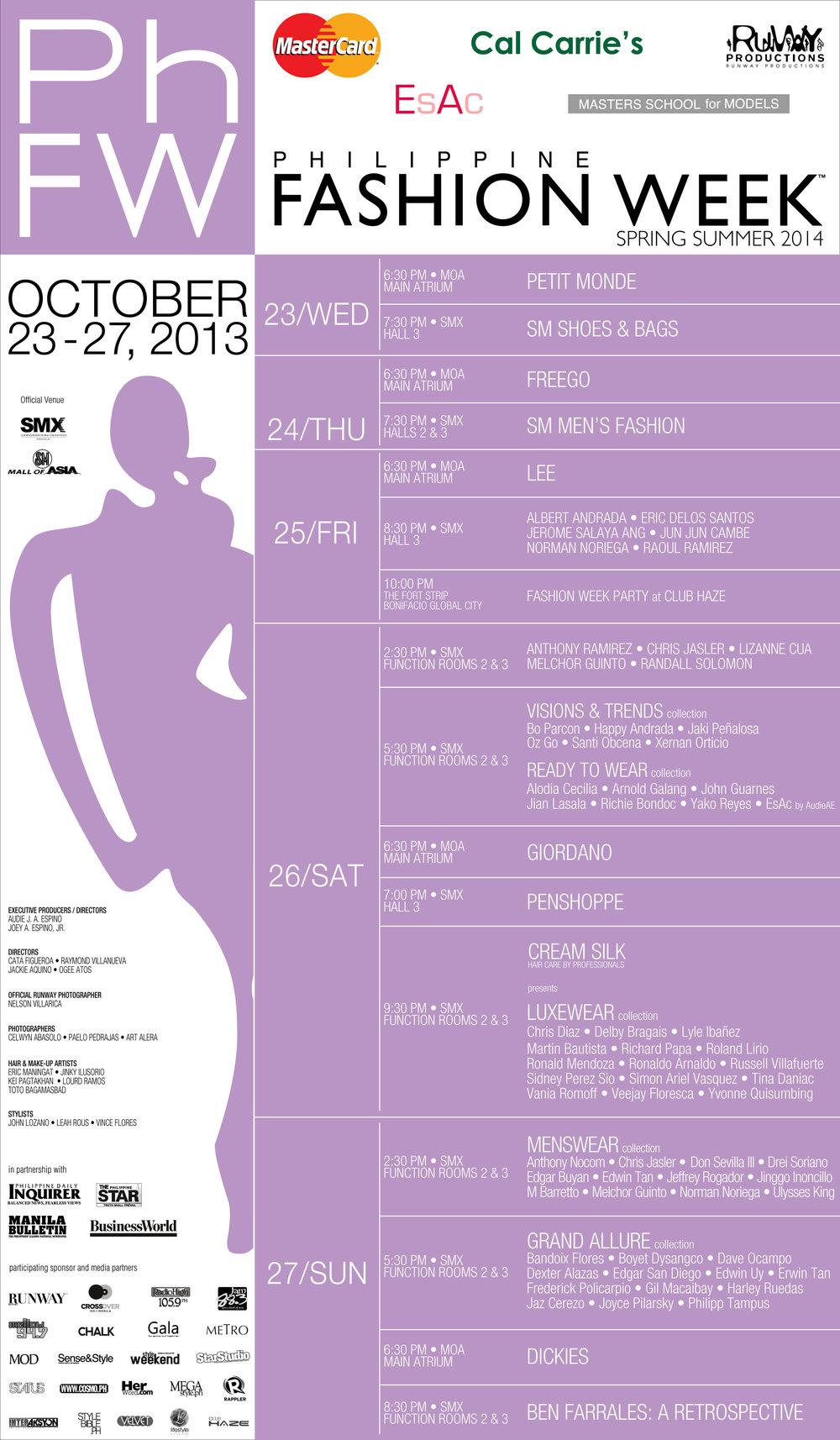 PhFW Spring Summer 2014 Show Schedule.jpg