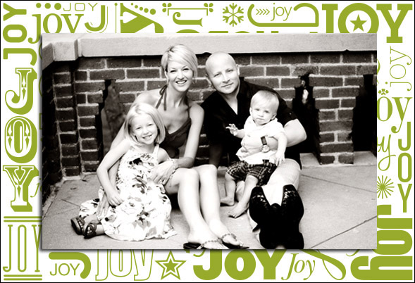 holiday photo cards_vintage letterpress_columbus Ohio lifestyle family photographer
