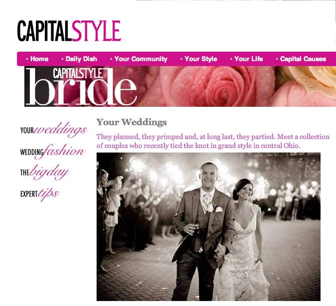 Capital Style publish, lauryn byrdy photography, columbus ohio lifestyle engagement and wedding photography