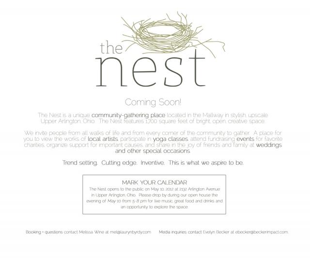 COMING SOON: The Nest — Lauryn Byrdy