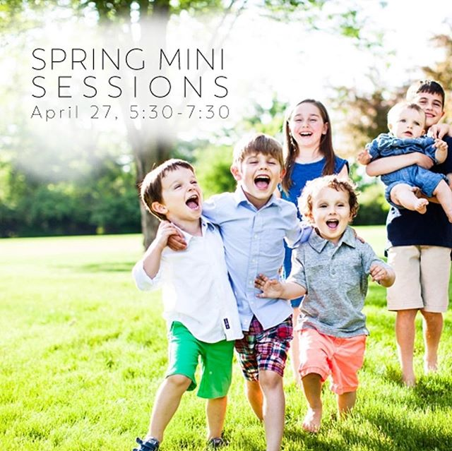 Maybe if I post spring mini sessions, spring will actually come. 🤷🏻‍♀️ #testingthistheory. Friday, April 27, 5:30-7:30 pm at Goodale Park! Link to to book in my profile!