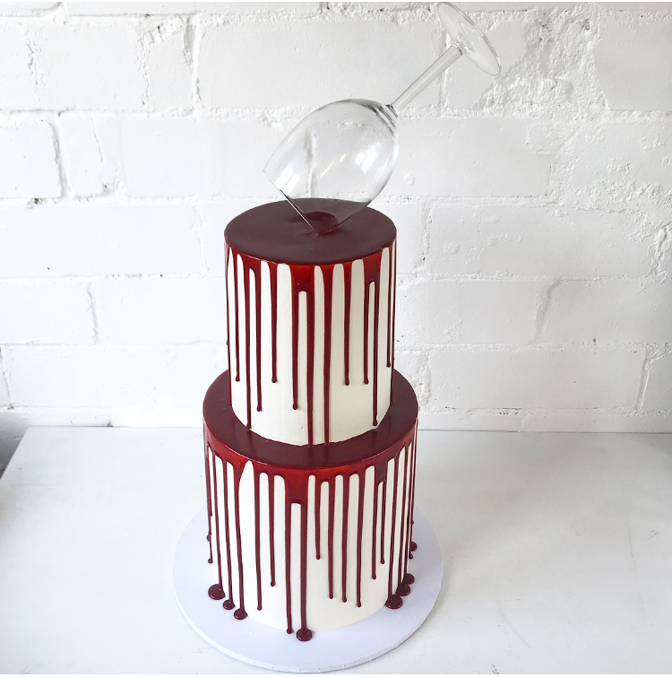 I am so grateful to have found Copper Fork Cakes. Our cake looked absolutely amazing and even more delicious, in fact, beyond delicious! All of our guests demanded seconds! Looking forward to ordering another cake! -
