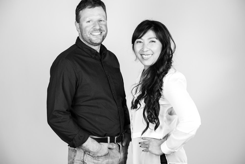 A husband and wife team with 15 years' experience in renovations.   - Two peas in a (very well designed) pod.