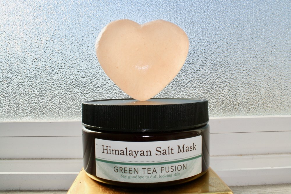 Favorite Mask of the Moment - You can get this Himalayan Salt Mask in the Salt Cave location in Santa Barbara