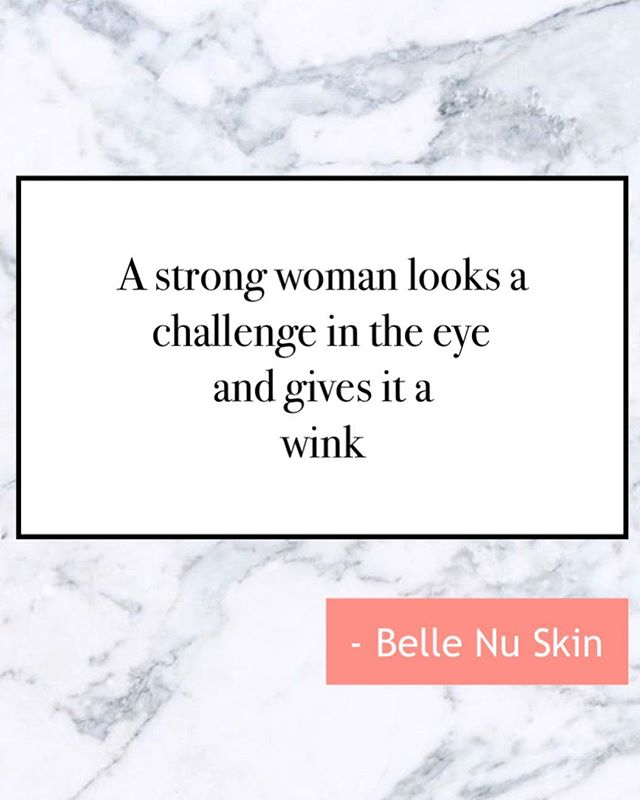 Happy hump day to all our strong 💪🏼 #bellenubabes. May we keep on winking to all the challenges that come our way 😉