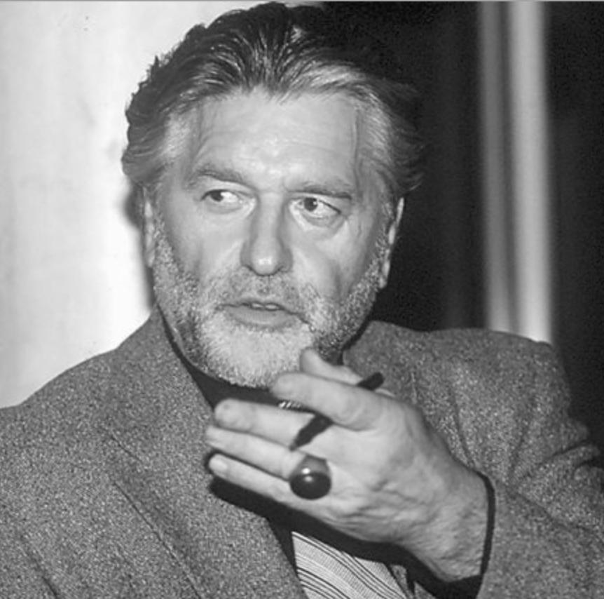 Gil Baillod. Grand Monsieur des welschen Uhren-Journalismus.Bild: JC. Péclet, Béquilles