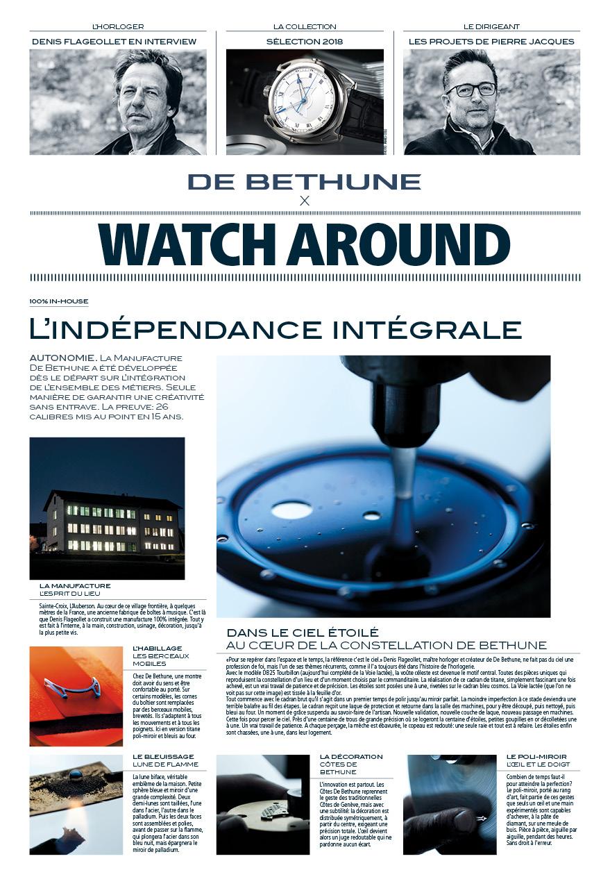 Cahier spécialDe Bethune - FrançaisDeutschEnglish
