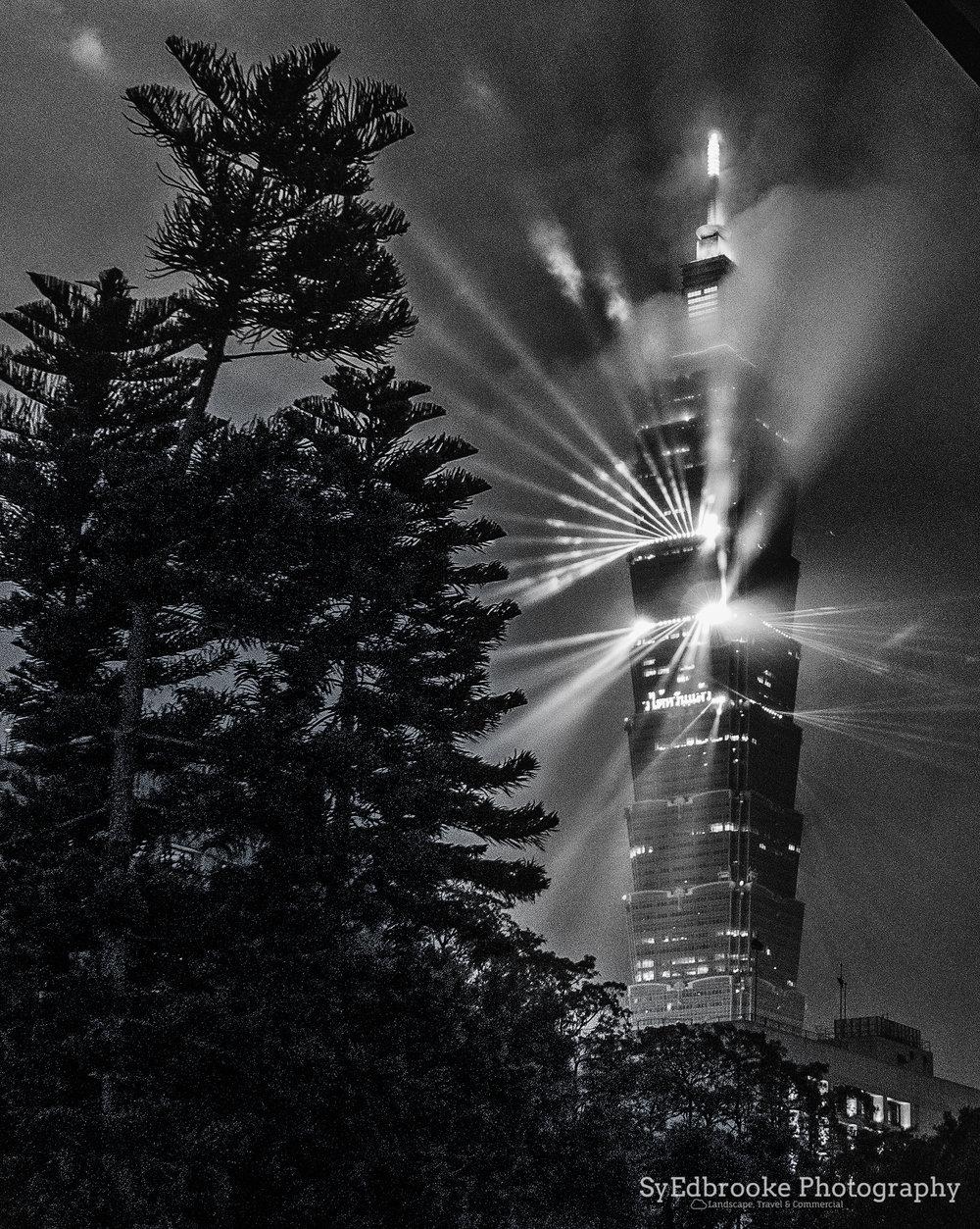 Taipei light show. f1.8, ISO 1600, 1/30, 35mm