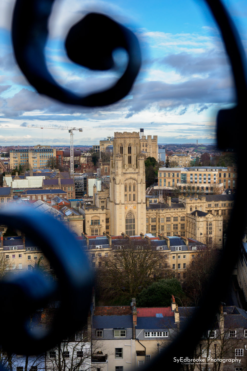 Bristol University Campus. 46mm, ISO 200, f 2.8, 1/1250