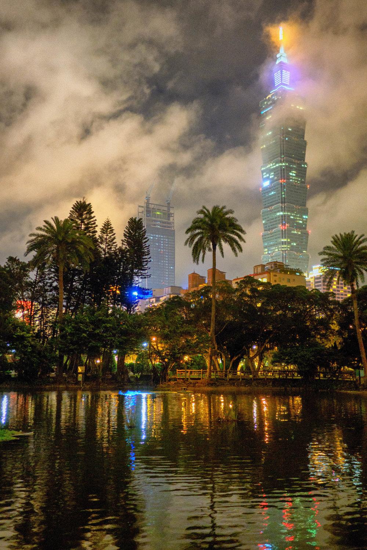Taipei 101 & SYS Memorial Hall
