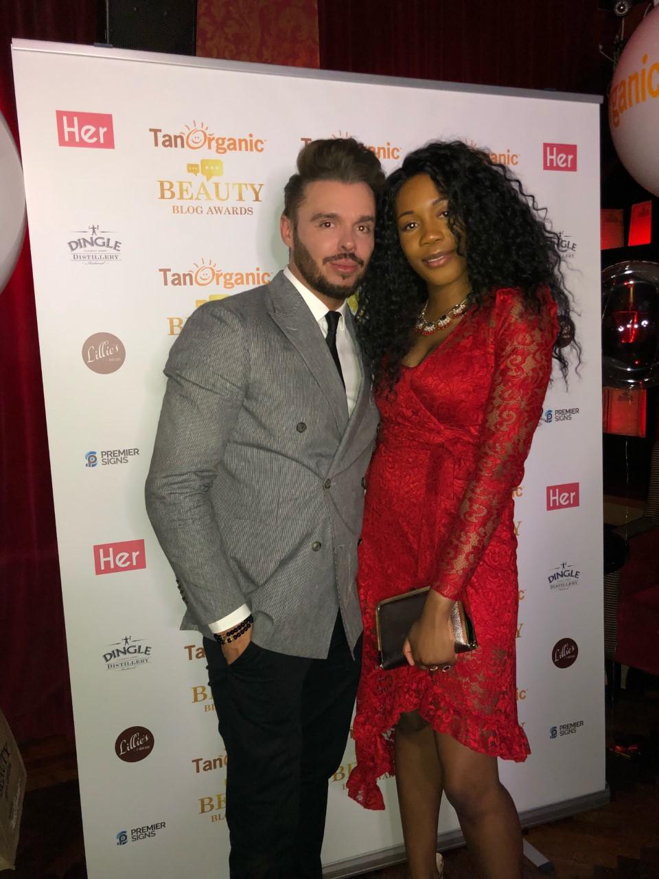 With Bukola Veronica at The Beauty Blog Awards