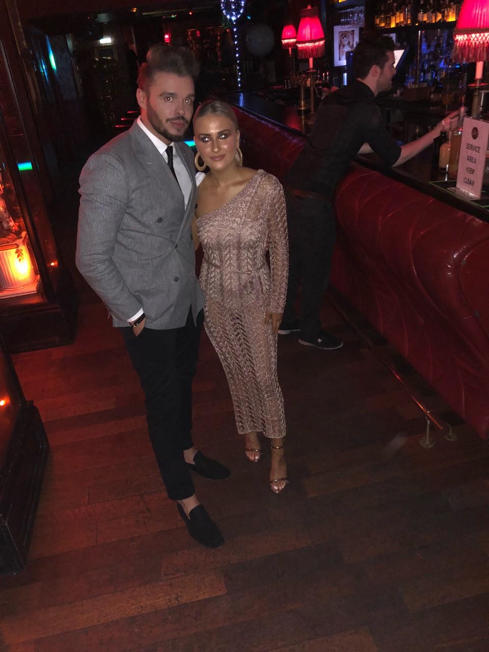 With Shauna Doyle at The Beauty Blog Awards