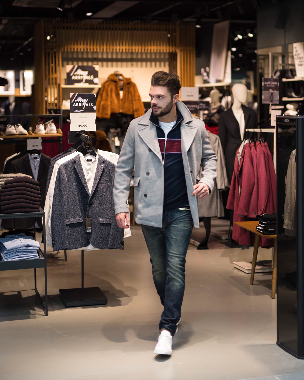 Full outfit from Selected Homme