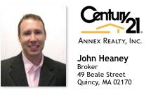 John Heany of Century 21 Annex