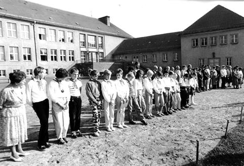 01.09.1958 – Einweihung der Joliot-Curie-Oberschule