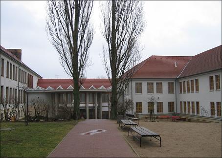 Das sanierte Joliot-Curie-Gymnasium