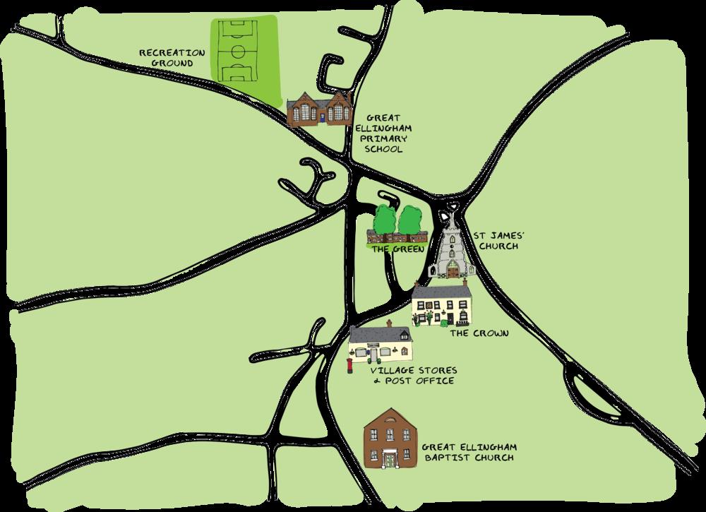 Great Ellingham Map.png