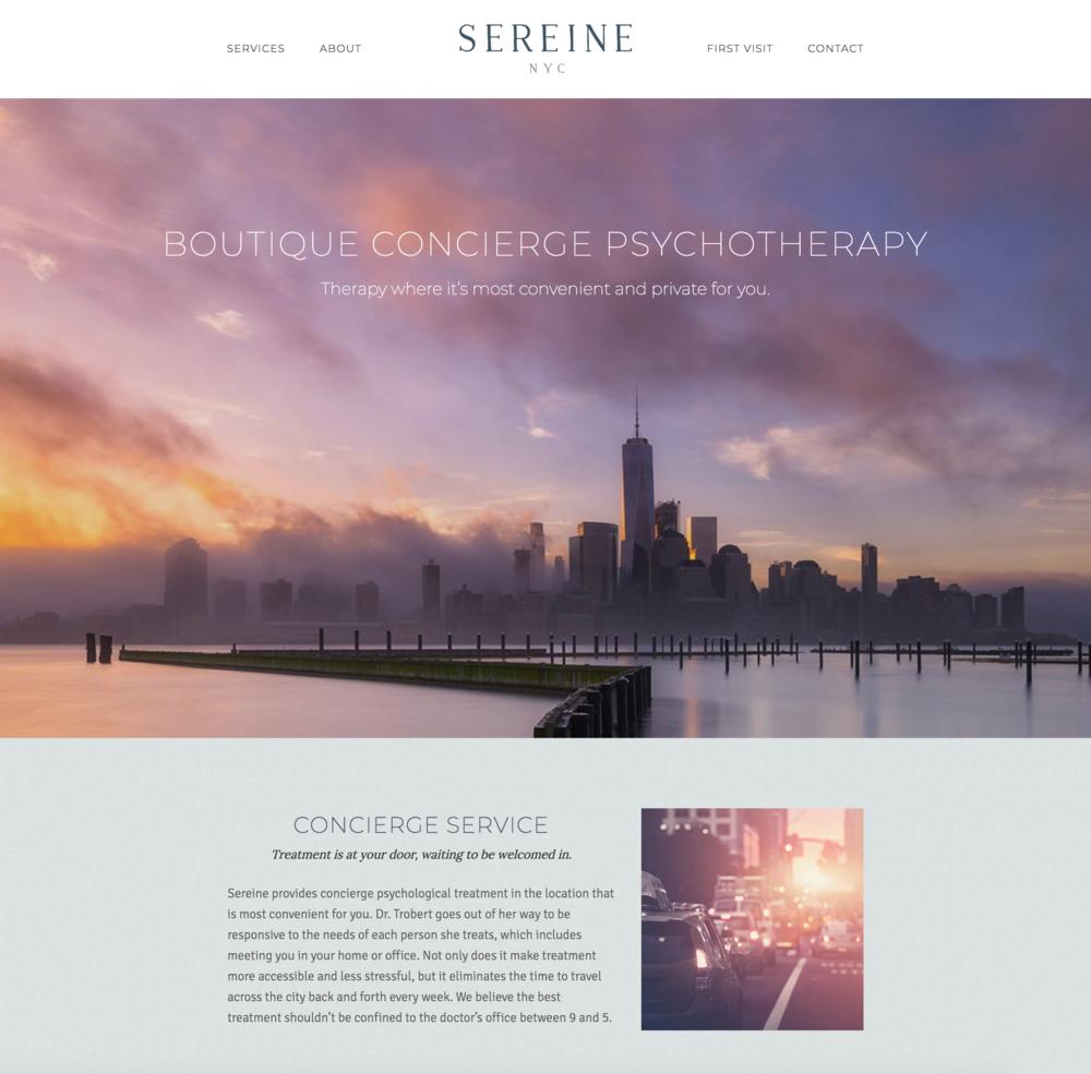 Sereine Homepage.png