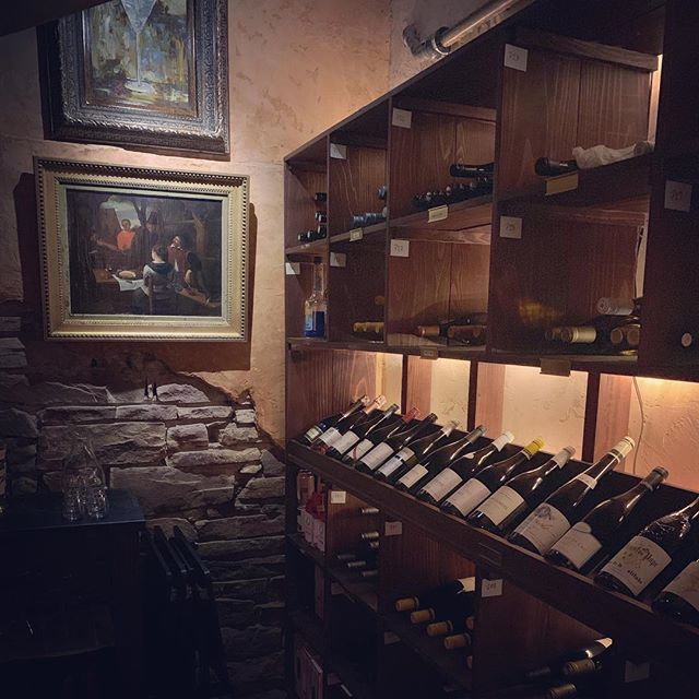 When your brand was first conceived as a wine bar, it feels pretty fitting to have a kick ass wine cellar in your office. 🍷 #homebase #fridayvibes #winecellar #sommolierintraining @fadduhwinebar #bouldercolorado #adagency #marketingagency #its5oclocksomewhere
