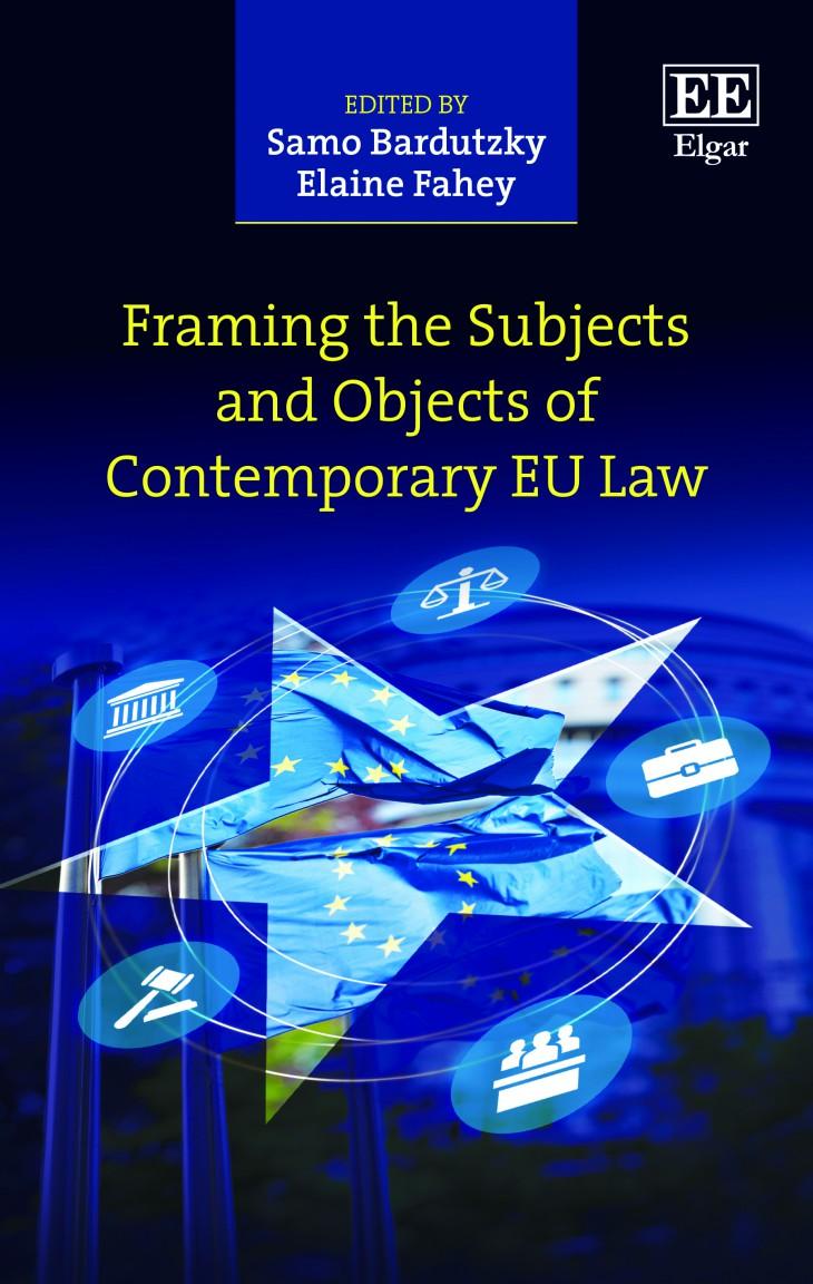 - pogovor z avtorji ob izidu dela Framing the Subjects and Objects of Contemporary EU Law; urednika Dr. Samo Bardutzky ter Dr. Elaine Fahey