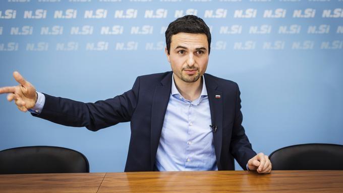 Predsednik NSi mag. Matej Tonin