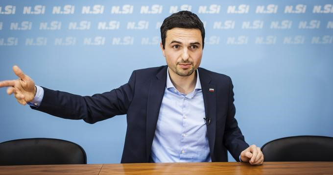 Predsednik NSi mag. Matej Tonin [1]