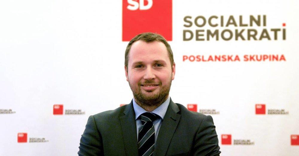 Poslanec Socialnih demokratov Jan Škoberne [1]