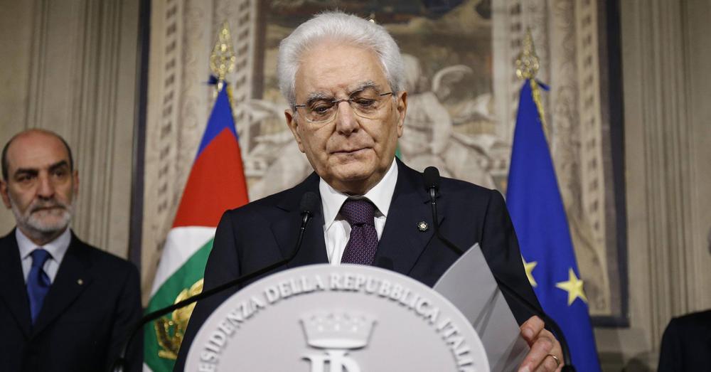 Predsednik Italije, Sergio Mattarella [11]