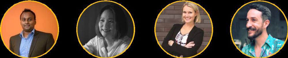 Contributors to this article (L to R): Arun Sundar (Co-Author, TrustSphere), Grace Yip (Accenture), Peta Latimer (Mercer) and Hunter Morgan Davis (Grab)