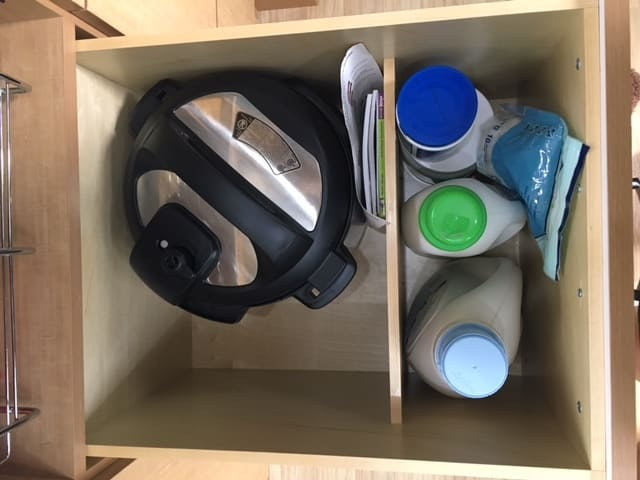 Airstream Organization: Instapot drawer