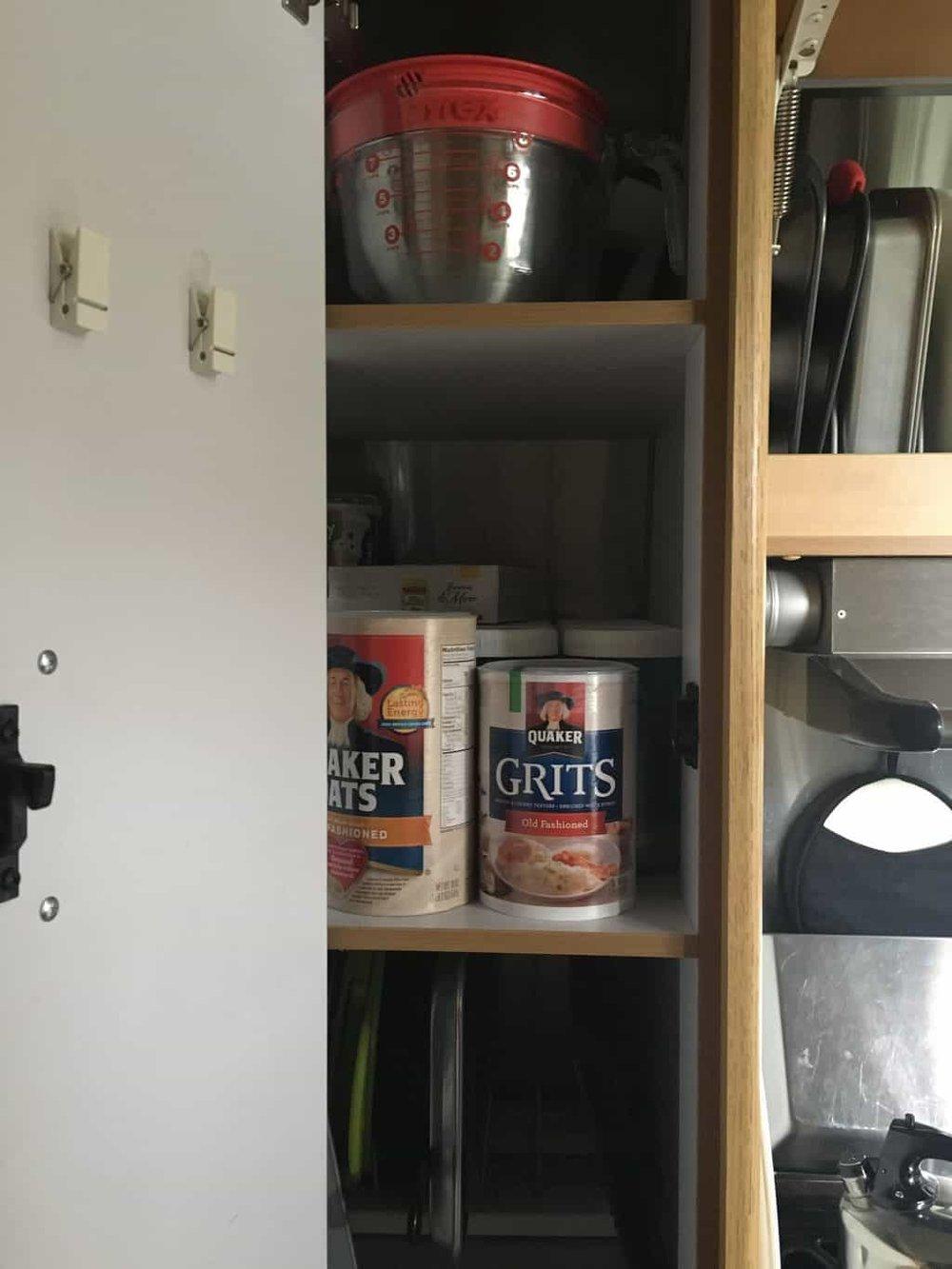 Airstream Kitchen Organization