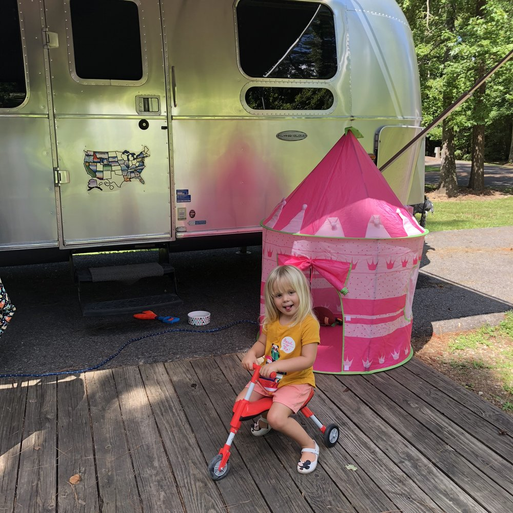 Camping at Tickfaw State Park