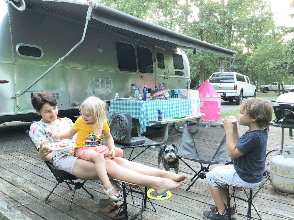 Camping at Tickfaw State Park in Louisiana