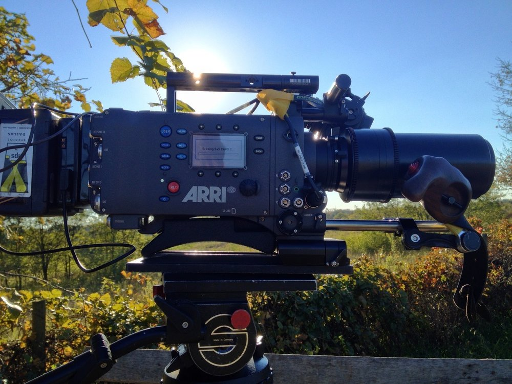 Shooting unharvested Kentucky tobacco fields with the amazing Arri Alexa HD Camera.
