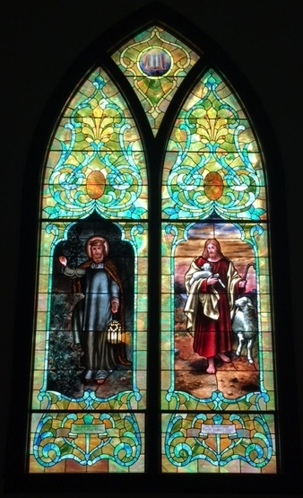 Stained Glass Window in SanCtuary