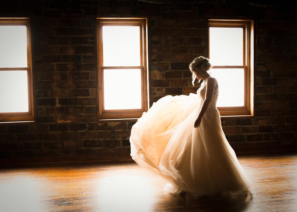 Humboldt Wedding. Bride Dancing at Rustiz Event Center.