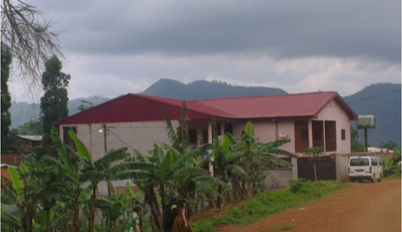 The girl school in cameroon