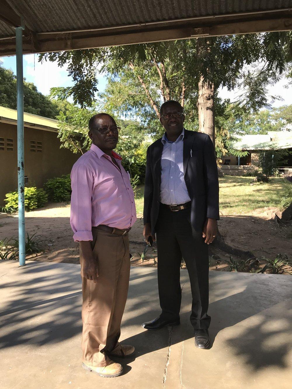 Chief Medical OfficerS dr Nyanza (Mkula Hospital) AND dr Katani (Kolandoto Hospital)