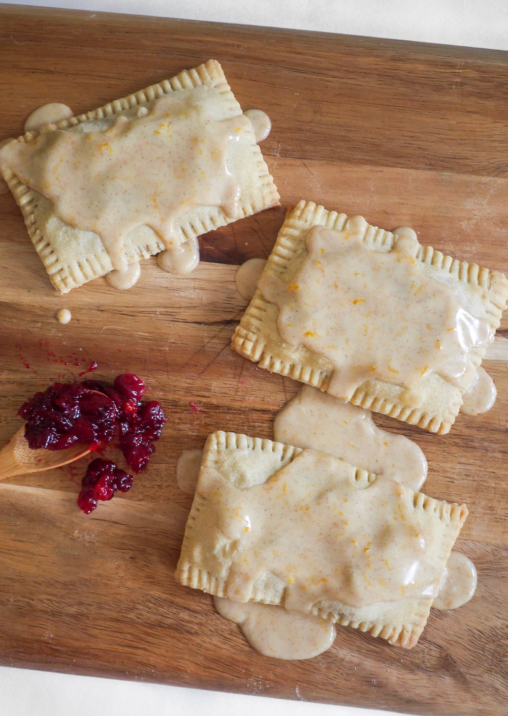 Cranberry Orange Poptarts