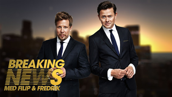 BREAKING NEWS MED FILIP & FREDRIK / KANAL 5 DIGITAL STRATEG & KREATÖR